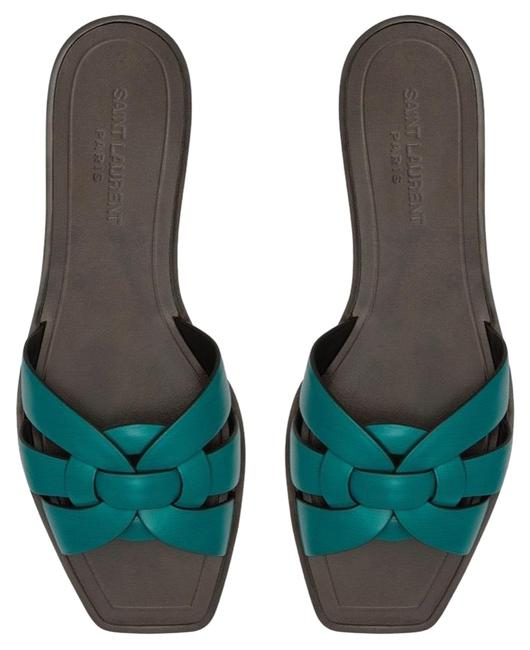 Item - Green Tribute Nu Pieds 05 In Leather Sandals Size EU 36 (Approx. US 6) Regular (M, B)