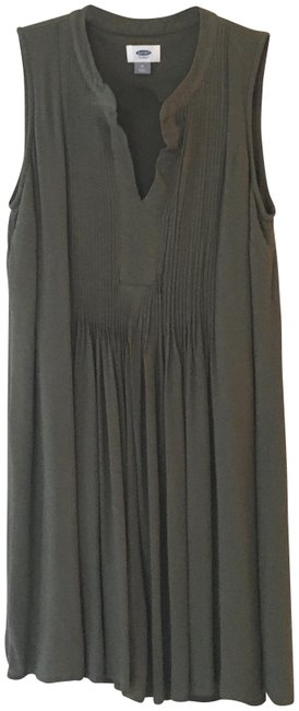 Item - Olive Green Short Casual Dress Size 8 (M)