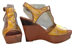 Tibi Yellow Platforms