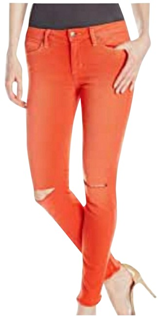 Item - Orange Medium Wash Finn Collector's Edition Skinny Jeans Size 30 (6, M)