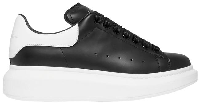 Item - Black Leather Exaggerated-sole Sneakers Size EU 38 (Approx. US 8) Regular (M, B)