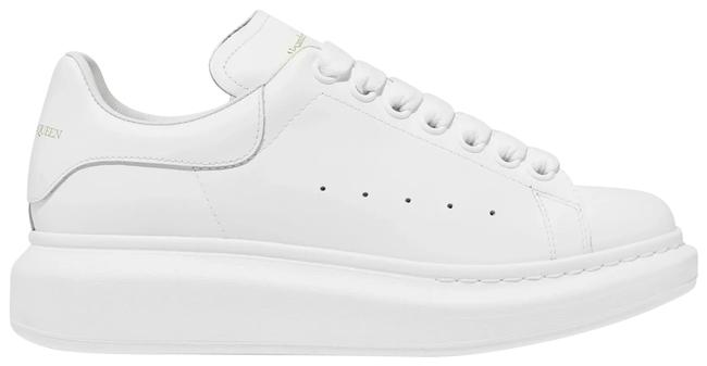Item - White Leather Exaggerated-sole Sneakers Size EU 41.5 (Approx. US 11.5) Regular (M, B)