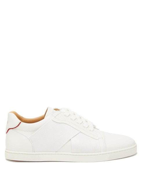 Item - White Mf Elastikid Donna Leather Trainers Sneakers Size EU 40.5 (Approx. US 10.5) Regular (M, B)