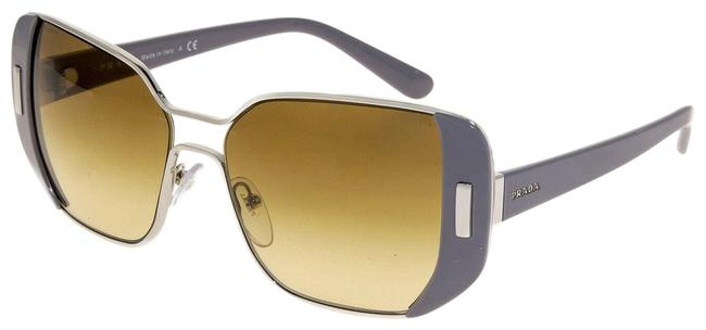 Item - Grey Silver Brown Mod Geometric Pr59ss Metal Gradient 59s Sunglasses
