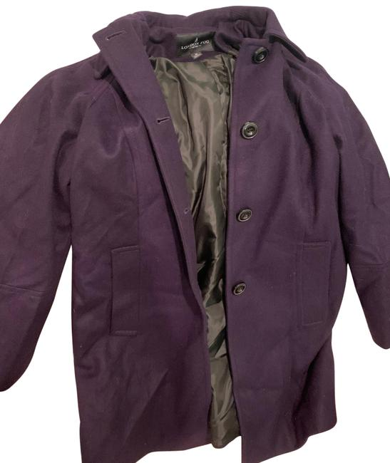 Item - Deep Plum Will with Scarf Coat Size 8 (M)