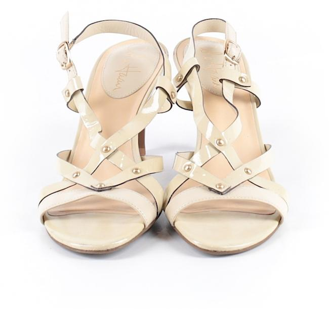 Item - Yellow and Cream Strappy Sandals Size US 6 Regular (M, B)