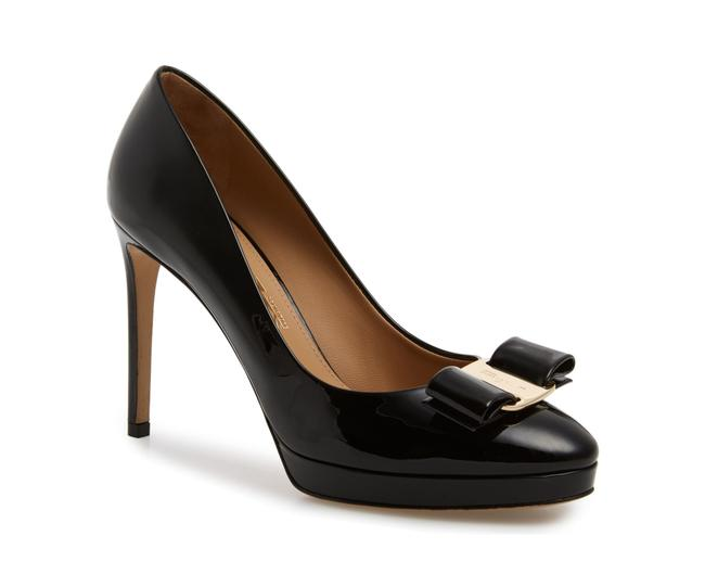 Item - Black Osimoglit Platform Pumps Size US 5.5 Regular (M, B)
