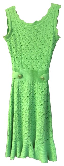 Item - Lime Mid-length Night Out Dress Size 8 (M)