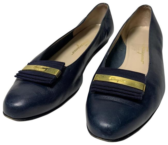 Item - Navy Blue 48 Flats Size US 8 Regular (M, B)
