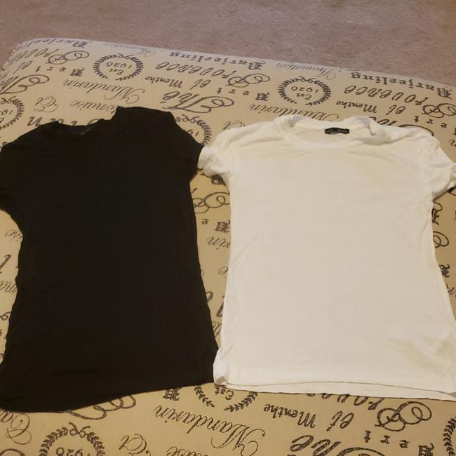 Item - Black and White From Collection Tee Shirt Size 2 (XS)