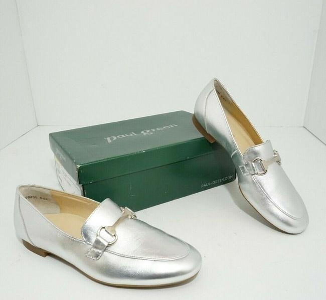 Item - Silver Oakland Women's Flats Slip On Loafers Leather Athletic Size US 7 Regular (M, B)