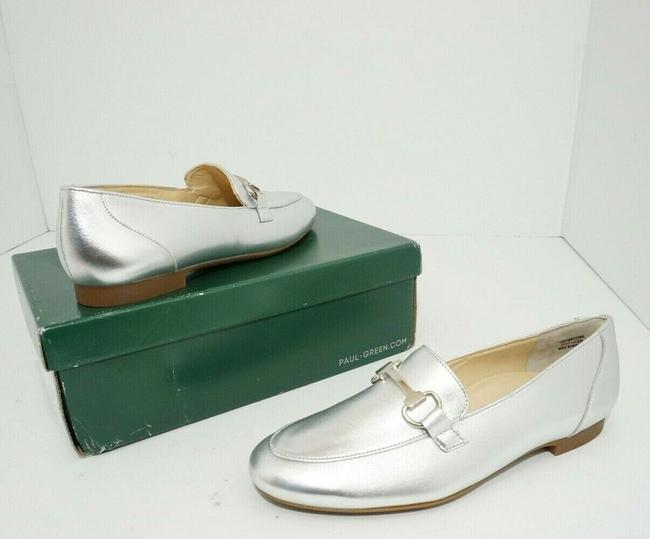 Paul Green Silver Oakland Women's Flats Slip On Loafers Leather Athletic Size US 7 Regular (M, B) Paul Green Silver Oakland Women's Flats Slip On Loafers Leather Athletic Size US 7 Regular (M, B) Image 7