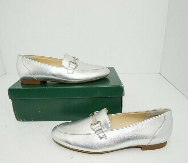 Paul Green Silver Oakland Women's Flats Slip On Loafers Leather Athletic Size US 7 Regular (M, B) Paul Green Silver Oakland Women's Flats Slip On Loafers Leather Athletic Size US 7 Regular (M, B) Image 10