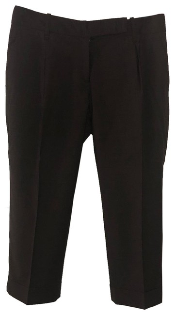 Item - Heathered Brown Cuffed Trousers Pants Size 4 (S, 27)