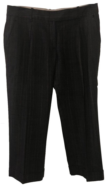 Item - Gray Pinstriped Pants Size 4 (S, 27)