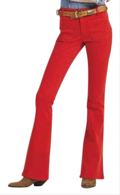 Item - Red The Visionaire Flare Leg Jeans Size 8 (M, 29, 30)