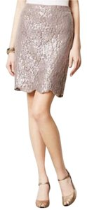 Anthropologie Skirt Taupe