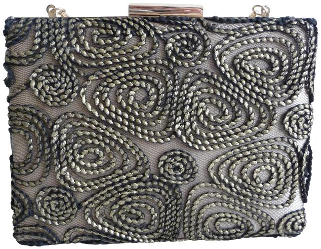 Carmen Marc Valvo Textured Evening Clutch Carmen Marc Valvo Textured Evening Clutch Image 1