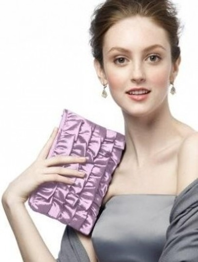 Dessy Handbag Purple Clutch