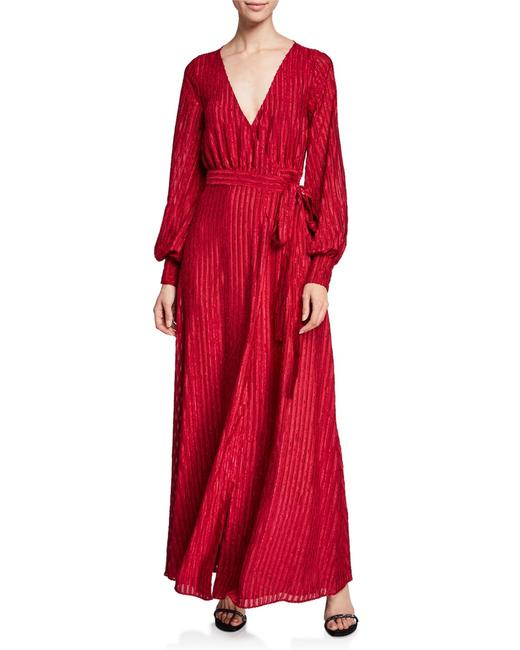 Fame and Partners The Rachel Sleeve Gown Long Formal Dress Size 6 (S) Fame and Partners The Rachel Sleeve Gown Long Formal Dress Size 6 (S) Image 1