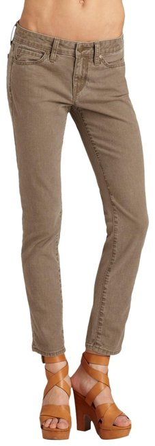 Item - Cocoa Distressed Crop Ankle Skinny Jeans Size 24 (0, XS)