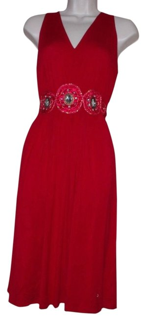 Preload https://item3.tradesy.com/images/eci-new-york-red-rayon-decor-belted-jersey-sleeveless-above-knee-cocktail-dress-size-4-s-2770057-0-0.jpg?width=400&height=650