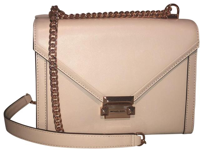 Michael Kors Large Whitney Soft Pink Leather Shoulder Bag Michael Kors Large Whitney Soft Pink Leather Shoulder Bag Image 1