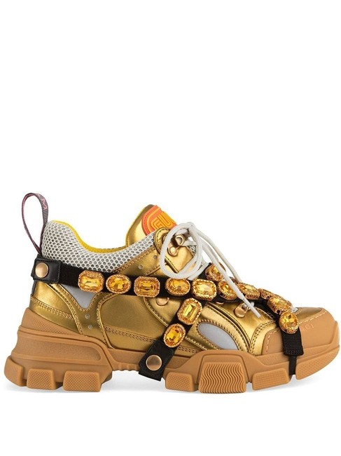 Gucci Flashtrek Removable Crystals Sneakers Size EU 35.5 (Approx. US 5.5) Regular (M, B) Gucci Flashtrek Removable Crystals Sneakers Size EU 35.5 (Approx. US 5.5) Regular (M, B) Image 1