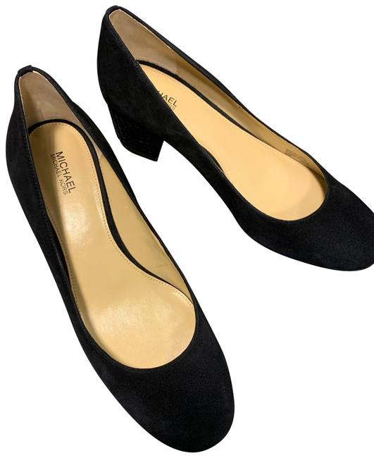 Michael Kors Black Arabella Suede. Pumps Size US 8.5 Regular (M, B) Michael Kors Black Arabella Suede. Pumps Size US 8.5 Regular (M, B) Image 1