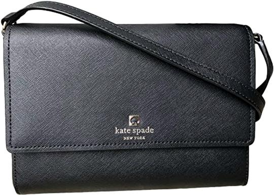 Preload https://img-static.tradesy.com/item/27701261/kate-spade-cove-street-purse-black-saffiano-leather-cross-body-bag-0-1-540-540.jpg