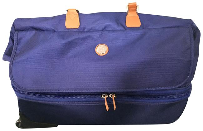 Item - Expandable Overnight / Carry Blue Tuff Tech Weekend/Travel Bag
