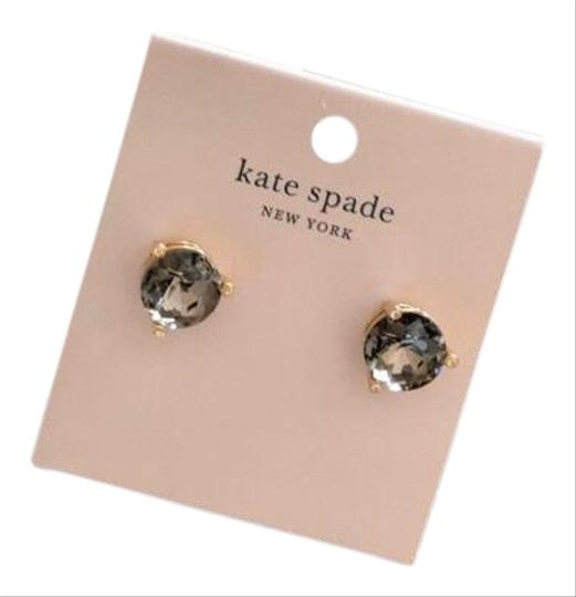 Preload https://img-static.tradesy.com/item/27701461/kate-spade-light-black-onyx-zirconia-earrings-0-2-540-540.jpg