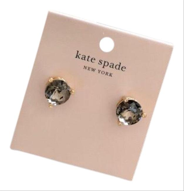 Kate Spade Light Black Onyx Zirconia Earrings Kate Spade Light Black Onyx Zirconia Earrings Image 1