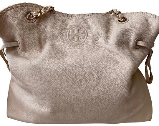 Preload https://img-static.tradesy.com/item/27701551/tory-burch-thea-slouchy-chain-tote-sweet-melon-dusty-pink-pebbles-leather-satchel-0-1-540-540.jpg