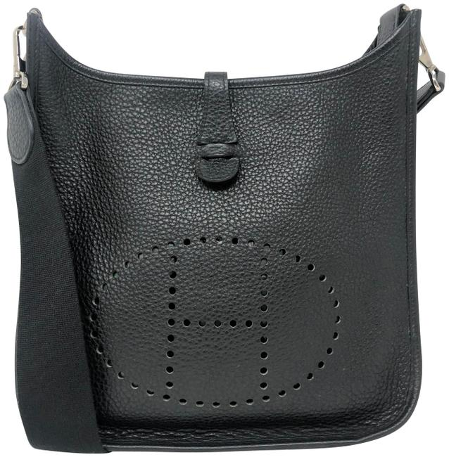Hermès Evelyne Pm Black Togo Messenger Bag Hermès Evelyne Pm Black Togo Messenger Bag Image 1