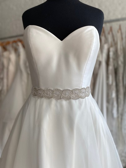 Preload https://img-static.tradesy.com/item/27701583/jl-johnson-bridals-silver-sash-0-0-540-540.jpg