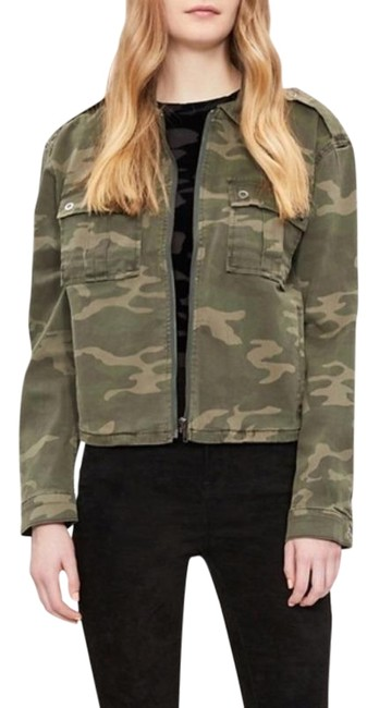 Item - Green Camo 0/0 Or 00-2 Jacket Size 2 (XS)