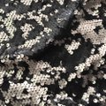1.STATE Sequin Black & Silver Top 1.STATE Sequin Black & Silver Top Image 2
