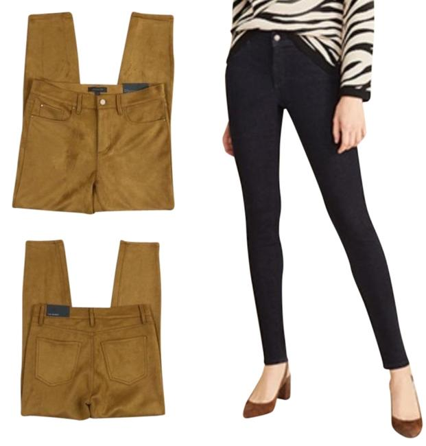 Item - Brown Gold Medium Wash The Velvet New Skinny Jeans Size 30 (6, M)