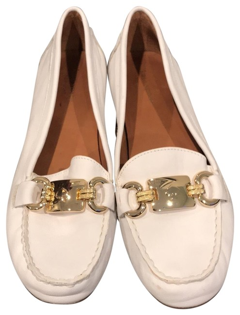 Kate Spade White Driving Loafer Flats Size US 8.5 Regular (M, B) Kate Spade White Driving Loafer Flats Size US 8.5 Regular (M, B) Image 1