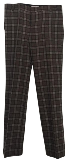 Item - Taupe Gray Plaid Wool Pants Size 6 (S, 28)