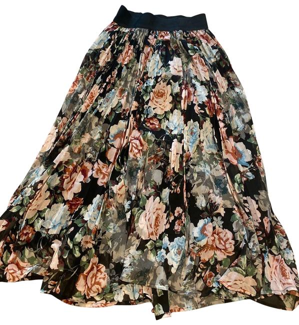 Item - Multicolored Pleats Please Floral - Small Skirt Size 4 (S, 27)