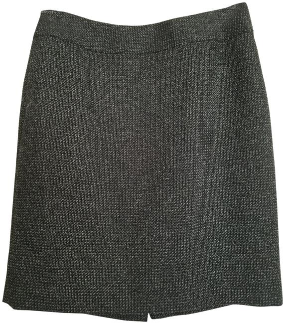 Item - Black and White Woven Straight Skirt Size 4 (S, 27)