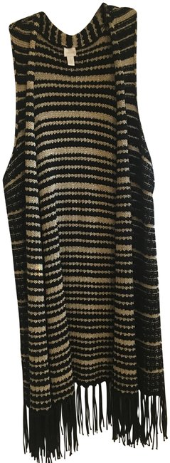 Item - Black and Gold None Cardigan Size 26 (Plus 3x)