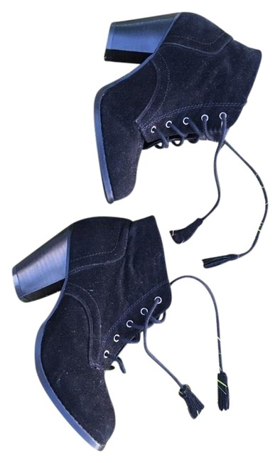 Item - Black G Stitch Boots/Booties Size US 7 Regular (M, B)
