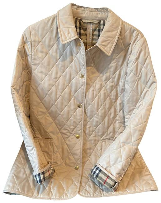 Item - Gold Quilted Cost Jacket Size 6 (S)