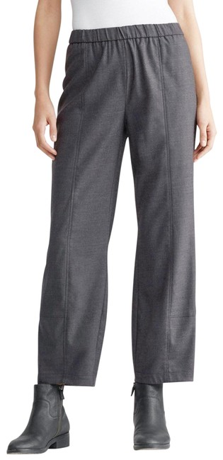 Item - Ash Ankle Lantern Heathered Stretch Flannel Twill Pants Size 20 (Plus 1x)