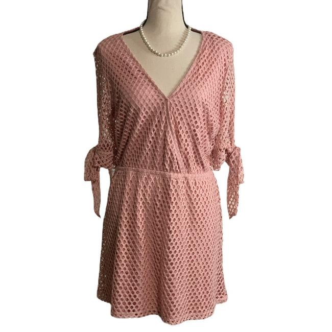 Item - Pink Short Casual Dress Size 12 (L)