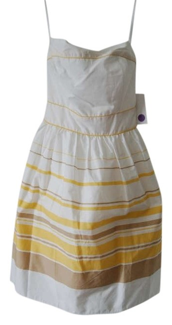 Preload https://item1.tradesy.com/images/alyn-paige-yellow-stripes-knee-length-cocktail-dress-size-6-s-277040-0-0.jpg?width=400&height=650