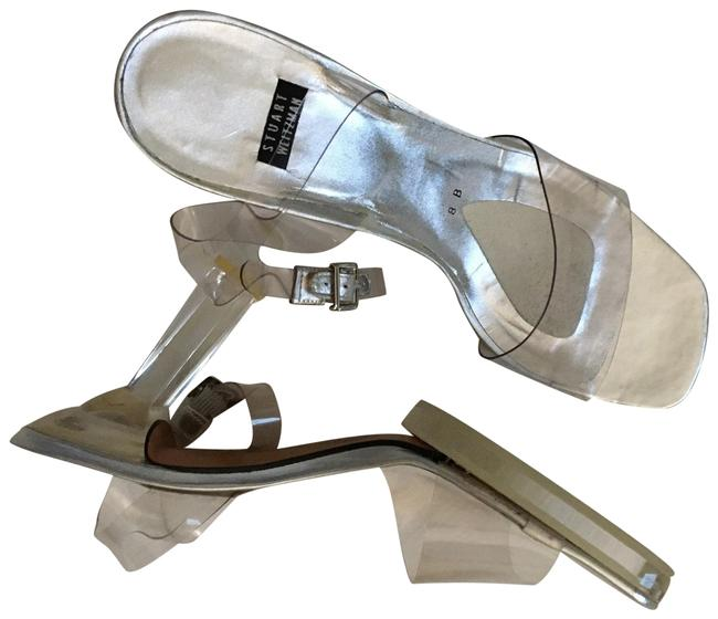 Item - Silver Platforms Size US 8 Regular (M, B)